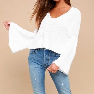 Free People | Bell Sleeve Knit Sweater
